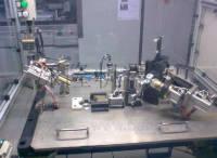 定制机器人自动化设备 自动化工装夹具 机器人工装夹具 孔系夹具系统 汽车试制夹具 GZJJ03