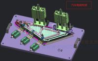 定制三维柔性焊接平台 平台组合夹具 3D多功能焊接工装 组装焊接机器人工装夹具 GZJJ09
