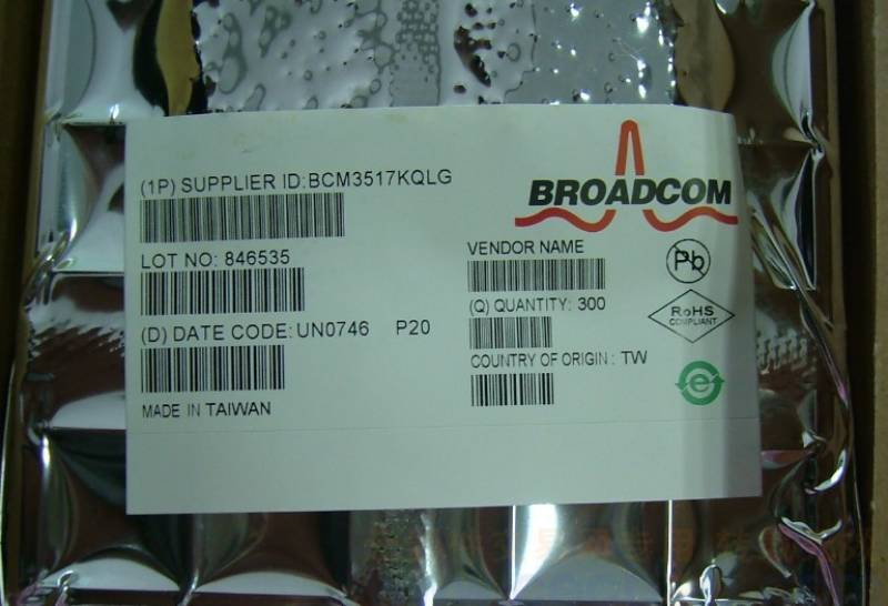 首页 ic 集成电路/ic > 供应  bcm3517kqlgp20   规格描述: 只卖原装