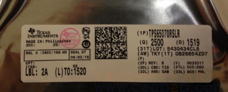 首页 ic 集成电路/ic > 供应  tps65070rslr   规格描述: 只做原装假