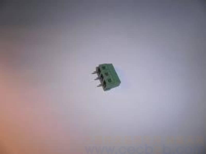 [供应]jk125接线端子 jk3.81插板系列-3pin jie ke