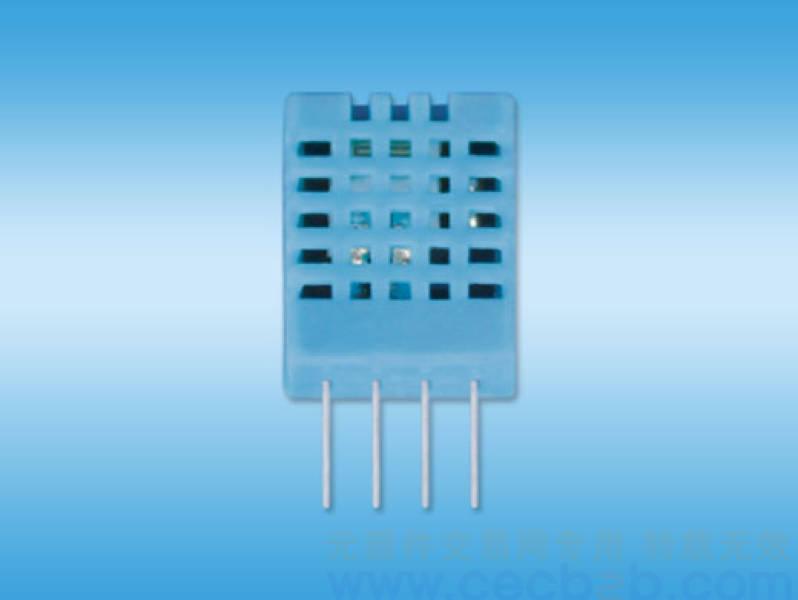 温湿度光电传感连单片机电路图
