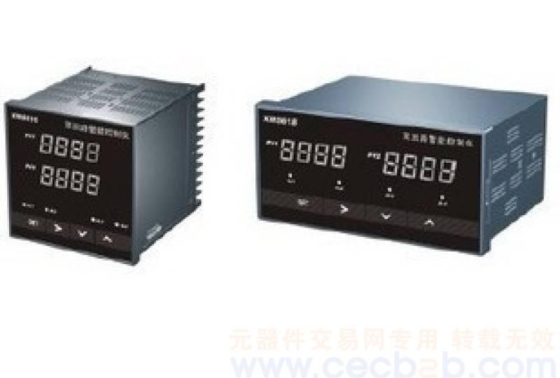1、概述 XMT系列数显仪与各类模拟量输出的传感器、变送器配合,完成温度、压力、流量、液位、成分等物理量的测量、变换、显示和控制 1.1 误差小于0.2%F.S,并具备调校、数字滤波功能 1.2 适用于电压、电流、热电阻、热电偶等信号类型 1.3 2路报警输出,上限报警或下限报警方式可选择。报警灵敏度独立设定 1.