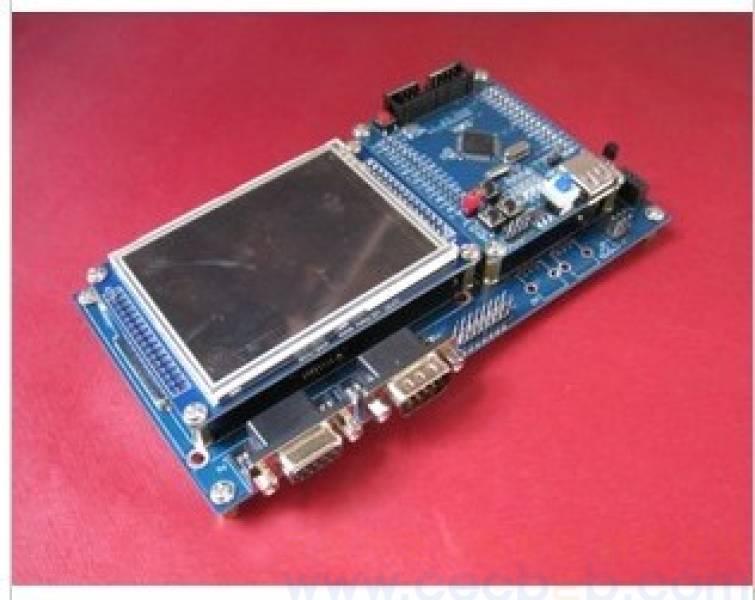 stm32开发板(只含底板) 兼容3.2寸触摸屏 12864液晶 sd卡等
