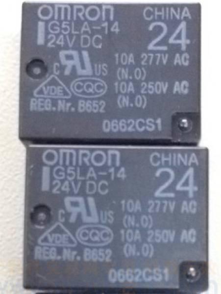欧姆龙继电器g5la-14 24v
