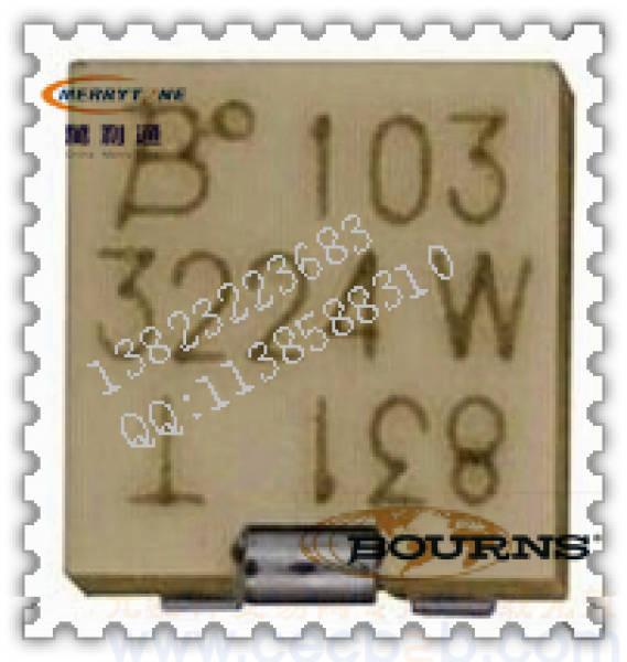 bourns精密电位器可调电阻 3224系列