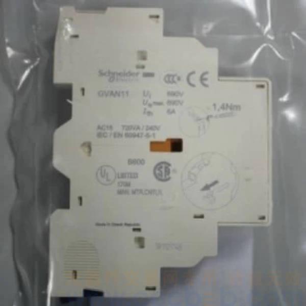 施耐德电动机保护器-辅助触点 一开一闭 gvan11