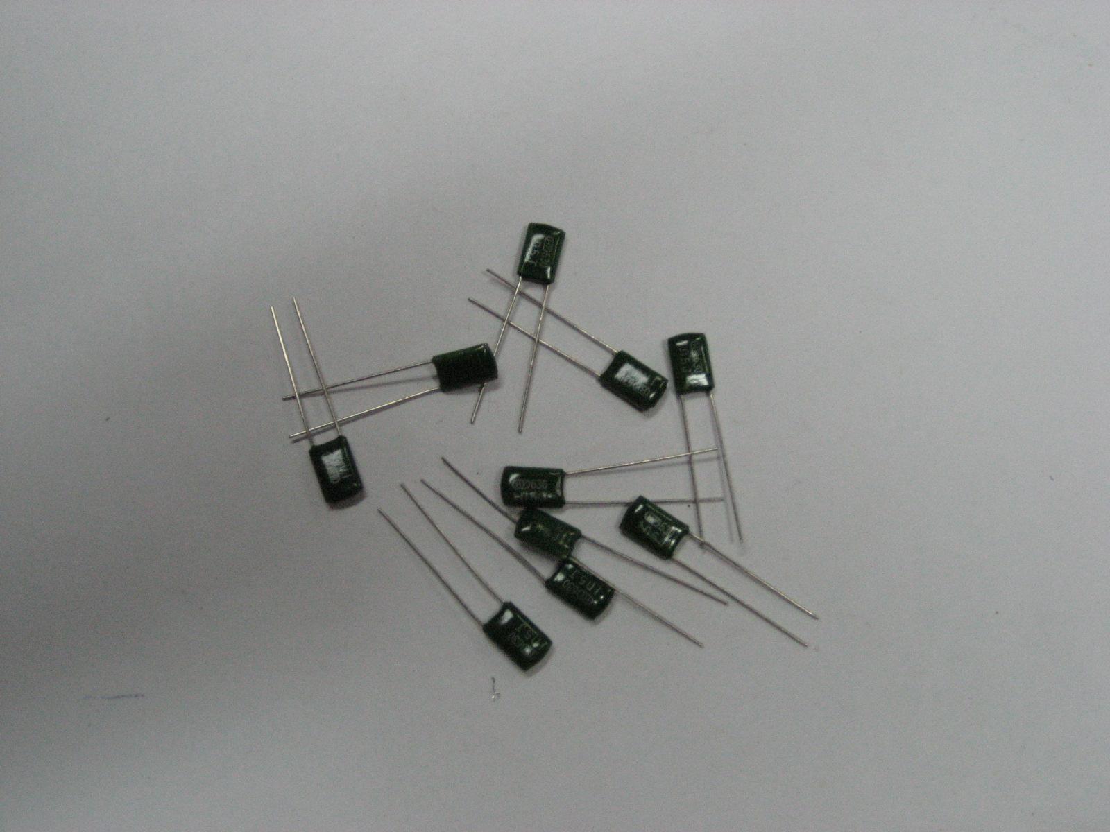 CL11聚酯膜电容器 CL11400V104 HY