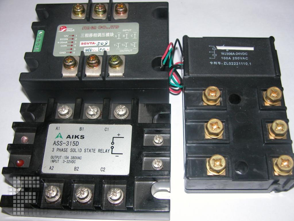三相固态继电器[4] 现货