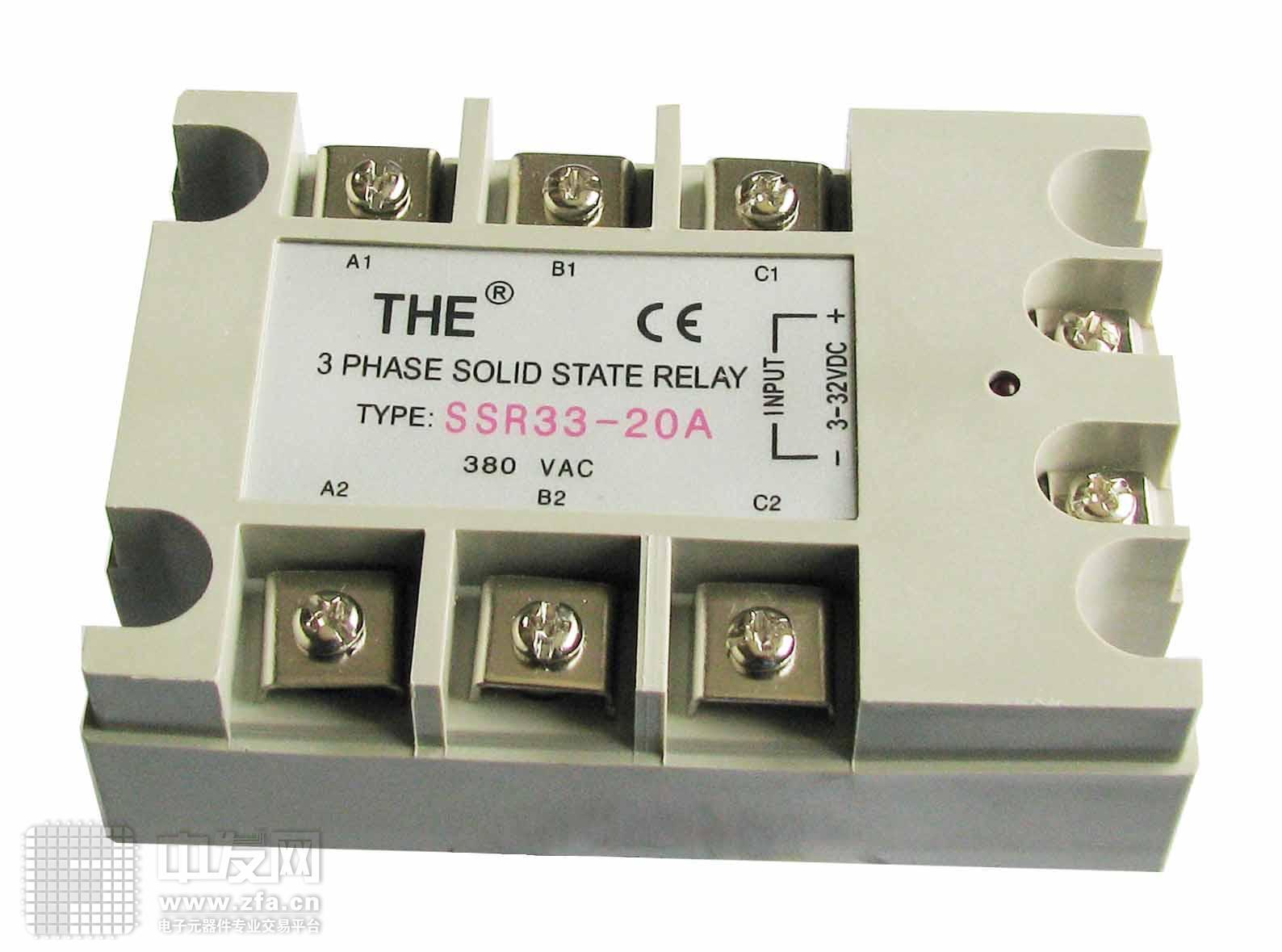 安装式单相交流固态继电器