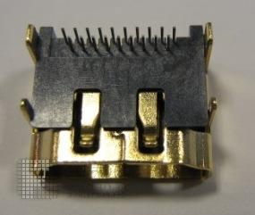HDMI连接器母头板端 母头