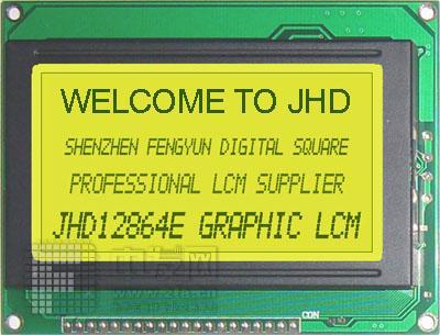 12864E JHD12864ESTNLED
