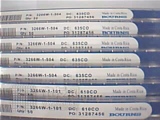 电位器 3266 美国BOURNS