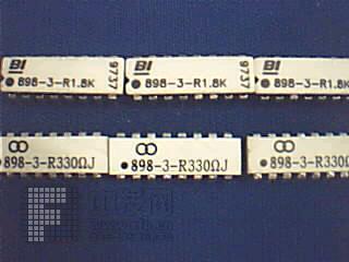 双列电阻排[1] 898 美国BI