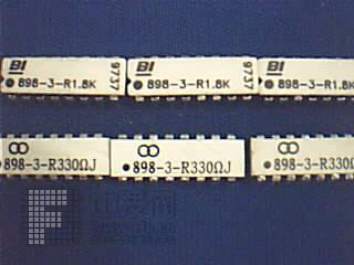 电阻排[1] 898 美国BI