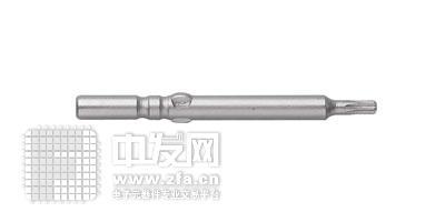 单头梅花5.0mm旋具头 DT1060