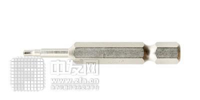 单头六角形6.35mm六角旋具头 HX1.550