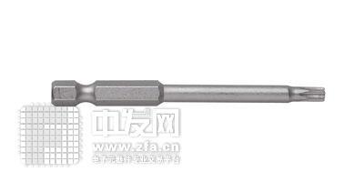 单头梅花6.35mm六角旋具头 FT1050