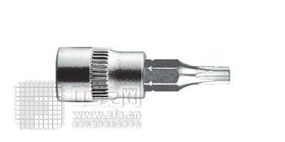 6.3mm系列花形旋具套筒1/4DR SK1/4T8