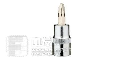 10mm系列十字形旋具套筒3/8DR SK3/8PH1