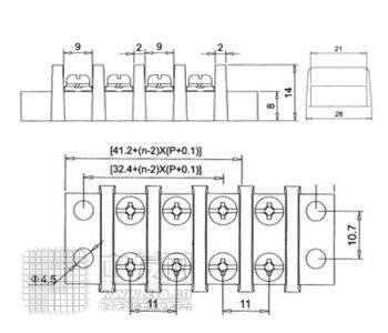 端子[13] KT2接线排