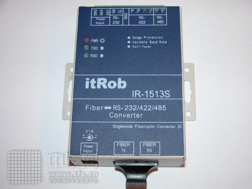光纤转换器 RS232/422/485转光纤