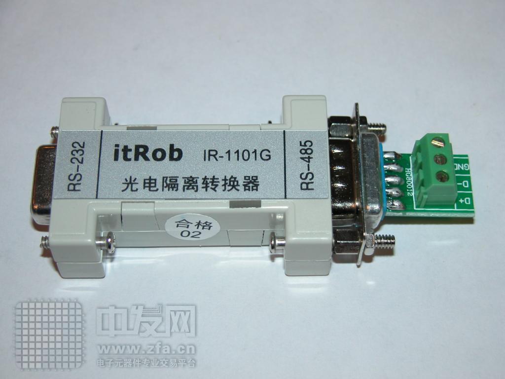 无源RS232转RS485光电隔离转换器 IR1101G