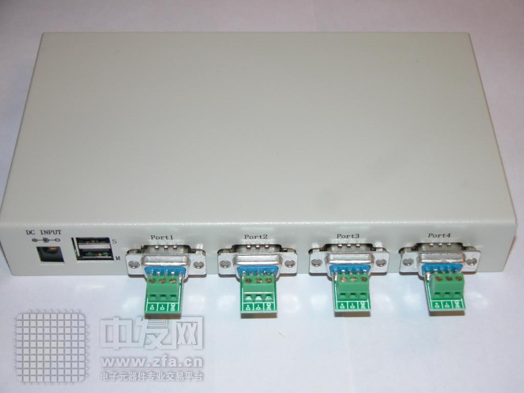 USB转4口RS485转换器 IR1404C