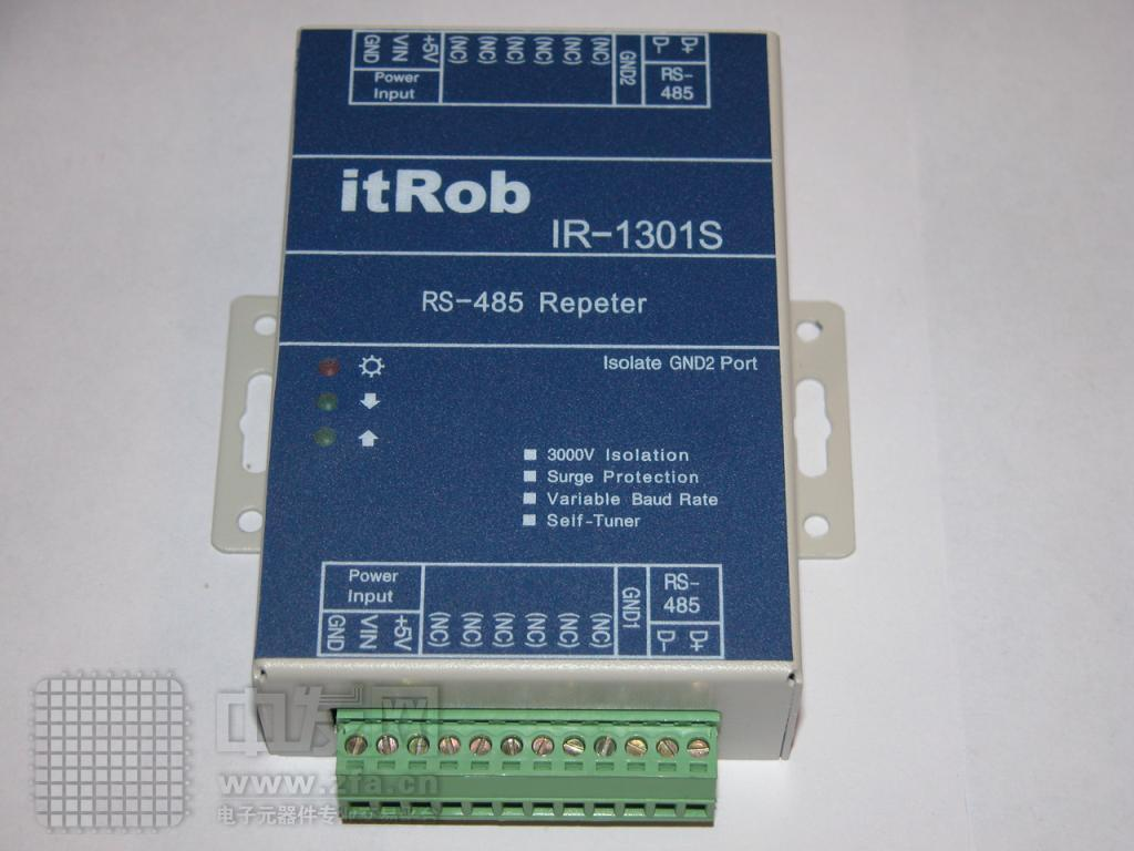 有源RS485光电隔离中继器[1] IR1301S