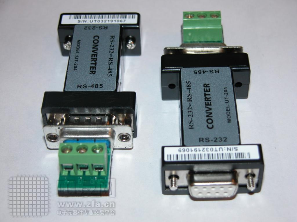RS232转RS485转换头 UT204