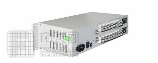 32路视频光端机+1路反向485数据 YFDV320100ST/R