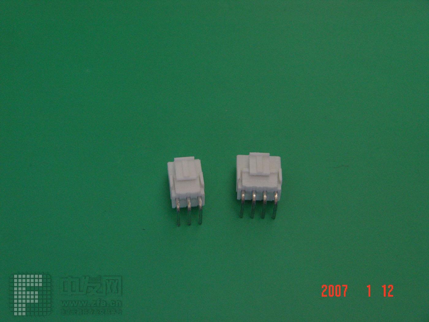 VH3.96连接器直、弯 2P12P