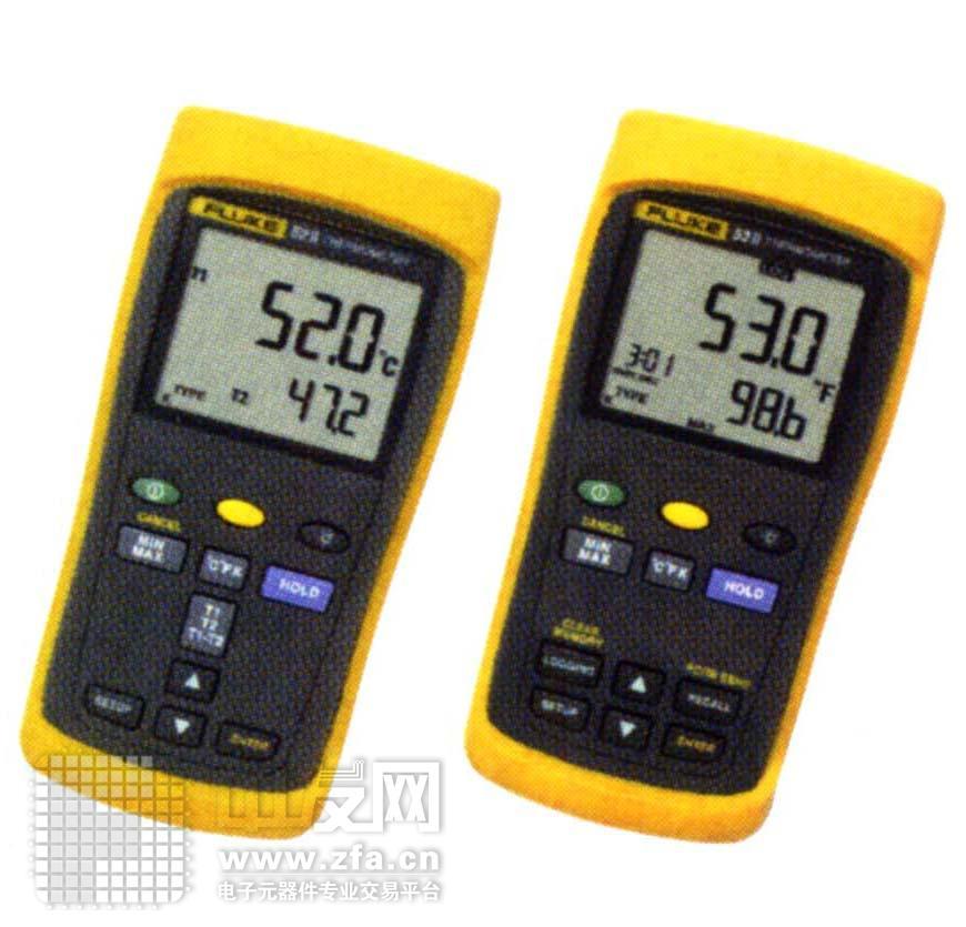 双通道数字式测温表 F52Ⅱ