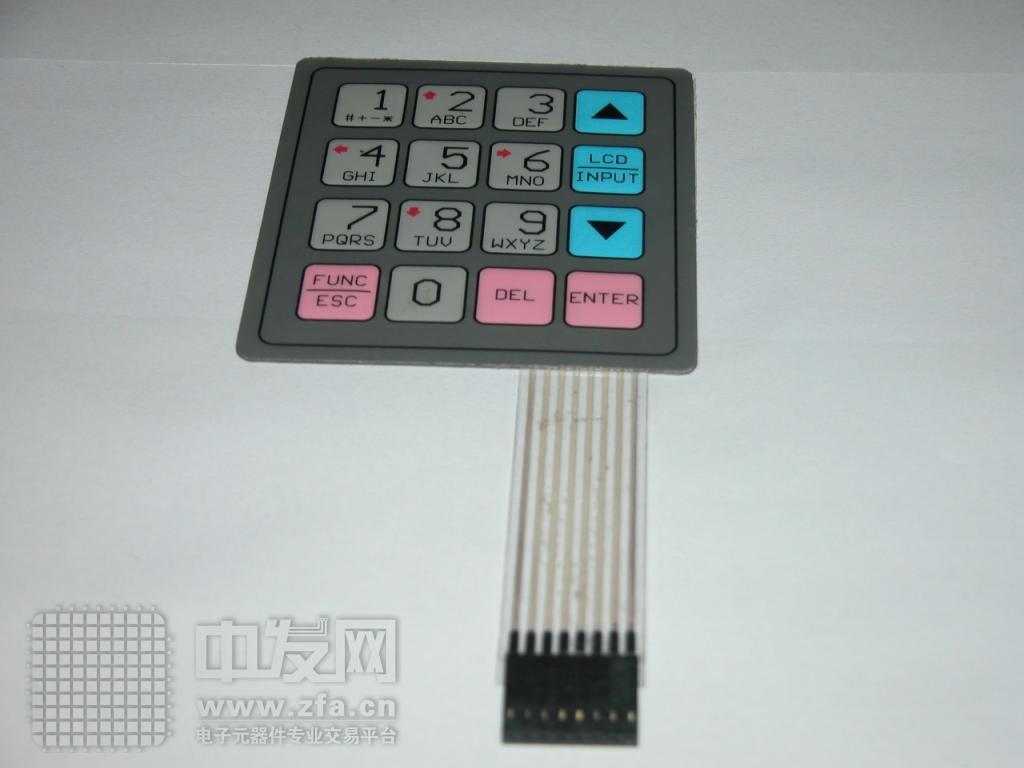 薄膜开关 R型按键板
