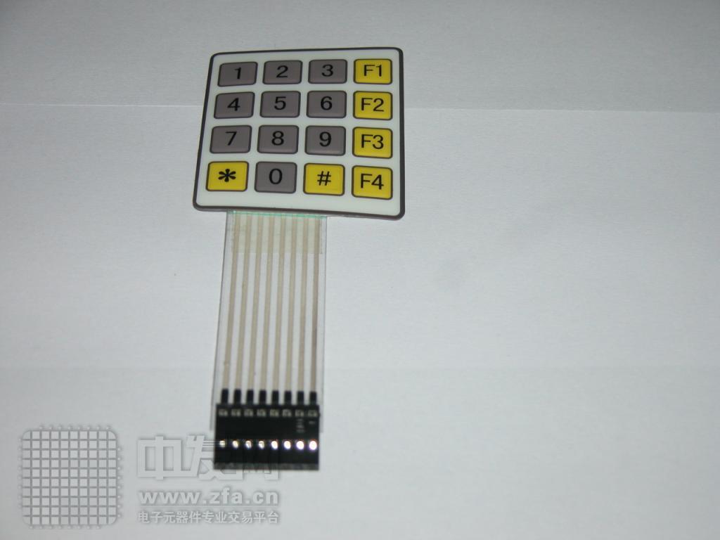 4X4标准键盘[2] 标准4×4