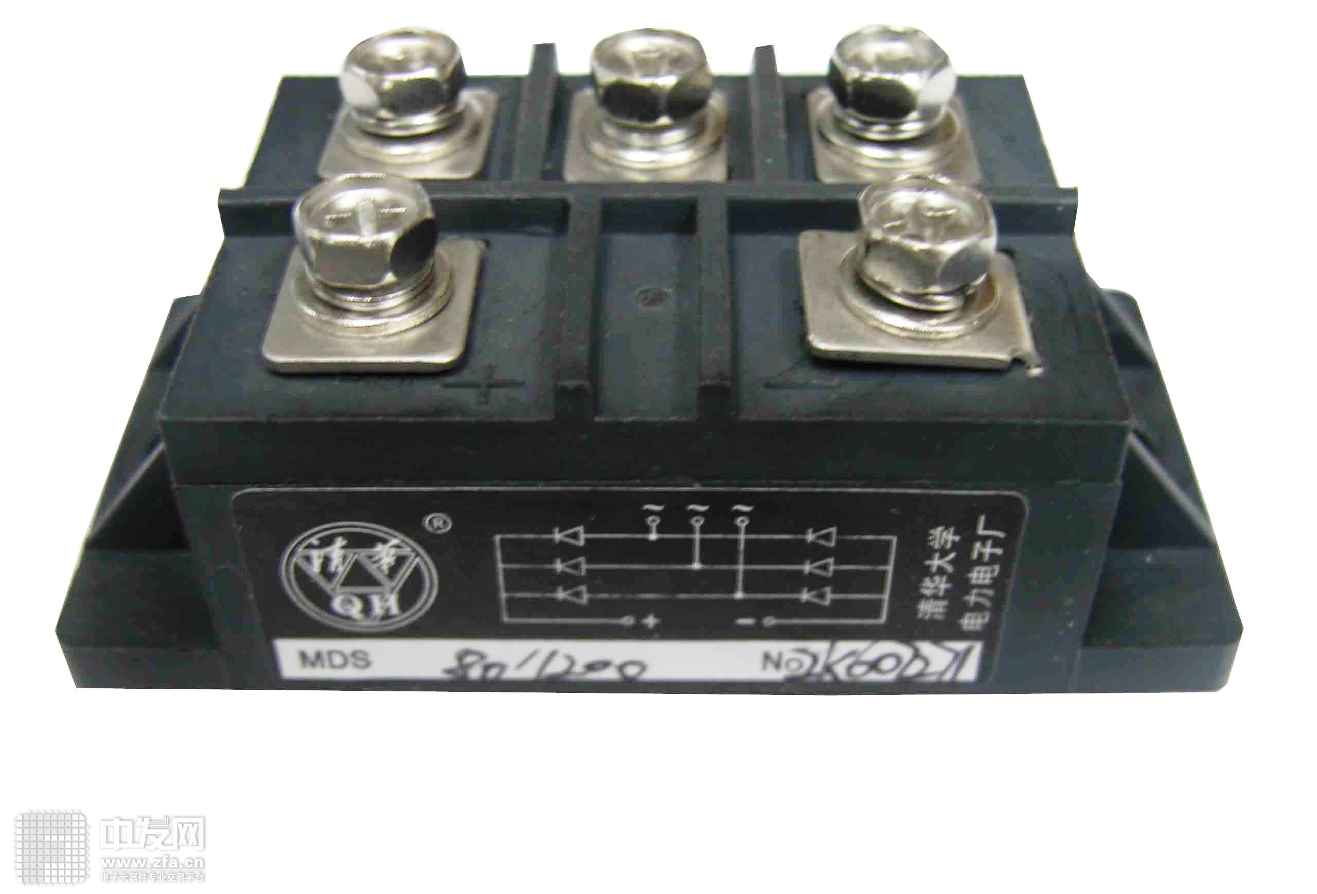 三相整流桥模块 MDS80A1200V 国产