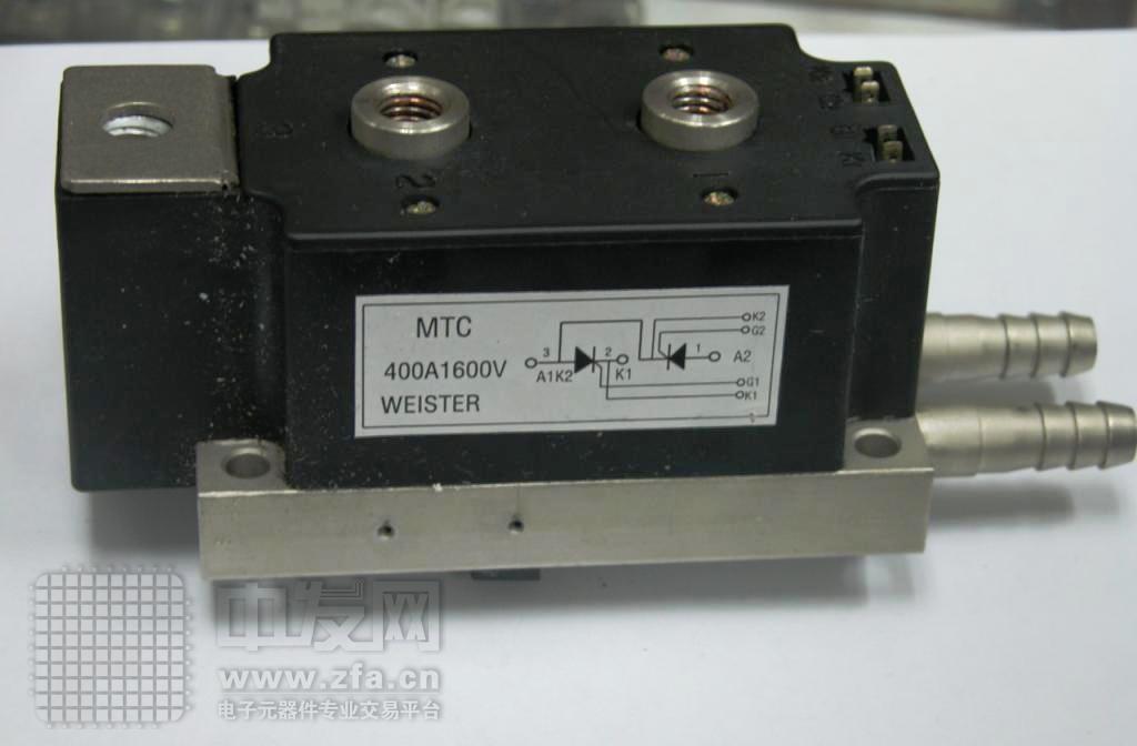 可控硅模块水冷 MTC400A1600V 国产