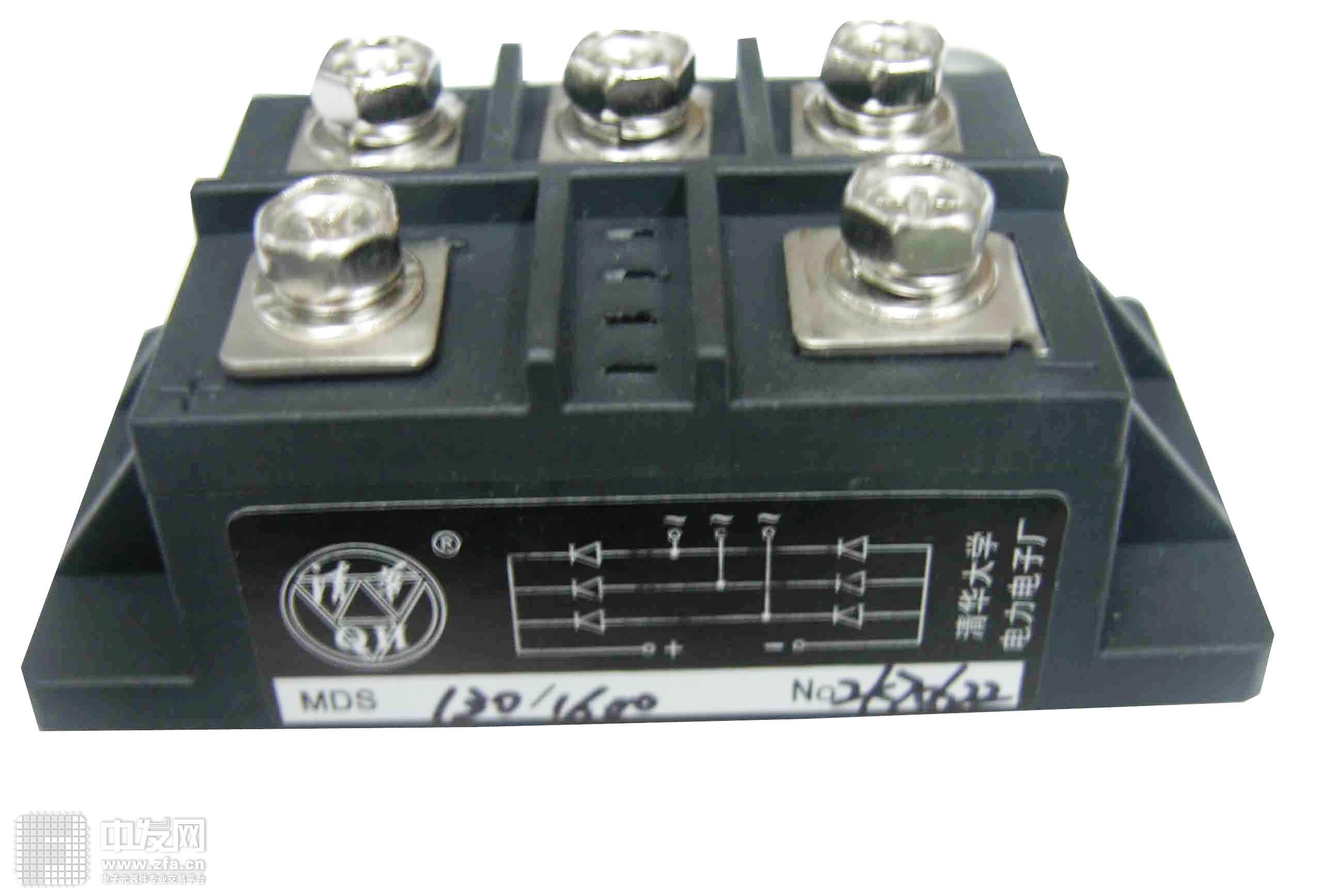 三相整流桥模块 MDS130A1600V 清华