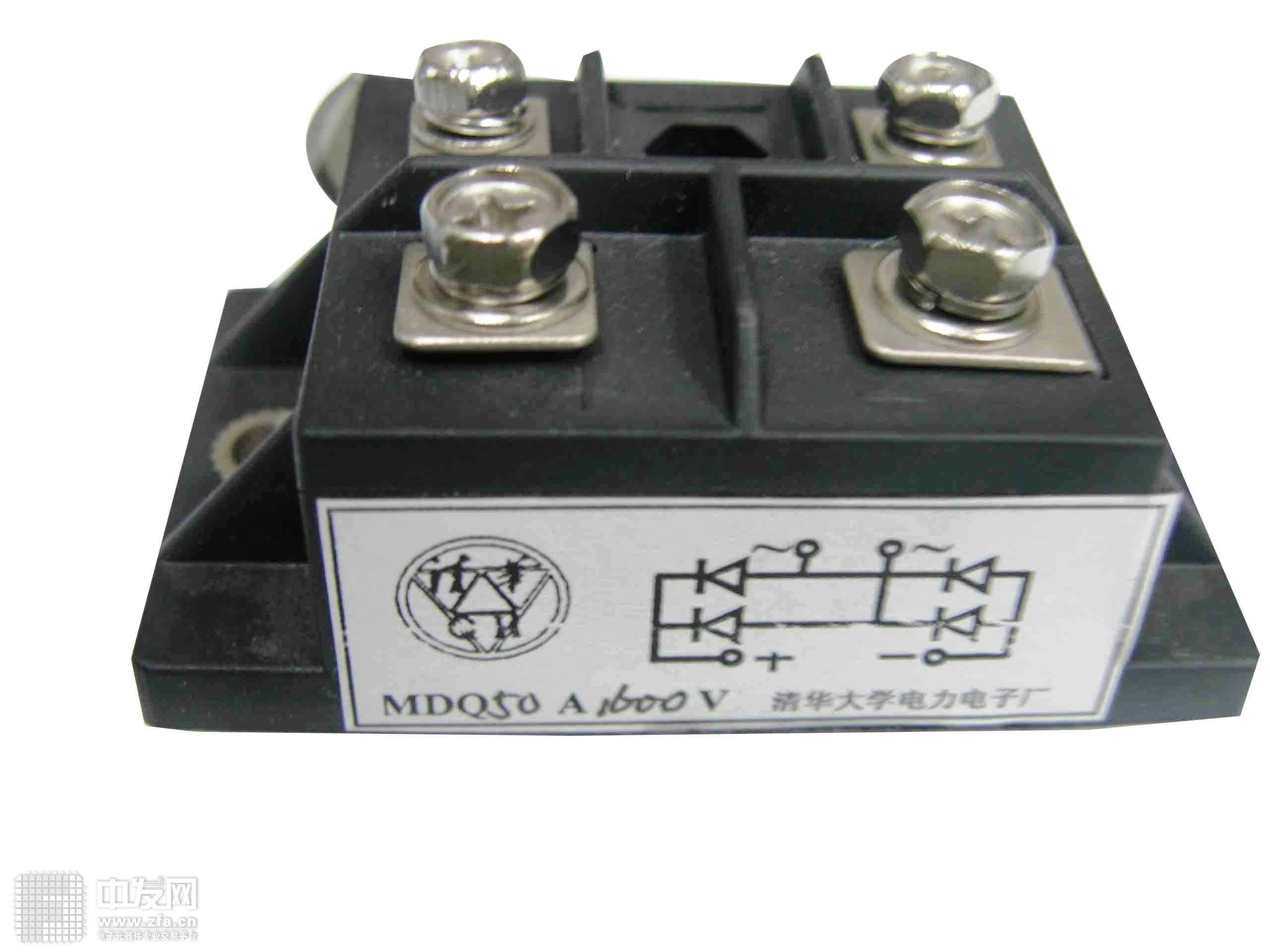 单相整流桥模块 MDQ50A1600V 清华