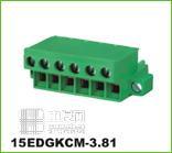 拔插式接线端子[7] 15EDGKCM3.81