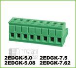 拔插式接线端子[1] 2EDGK5.0/5.08/7.5/7.62