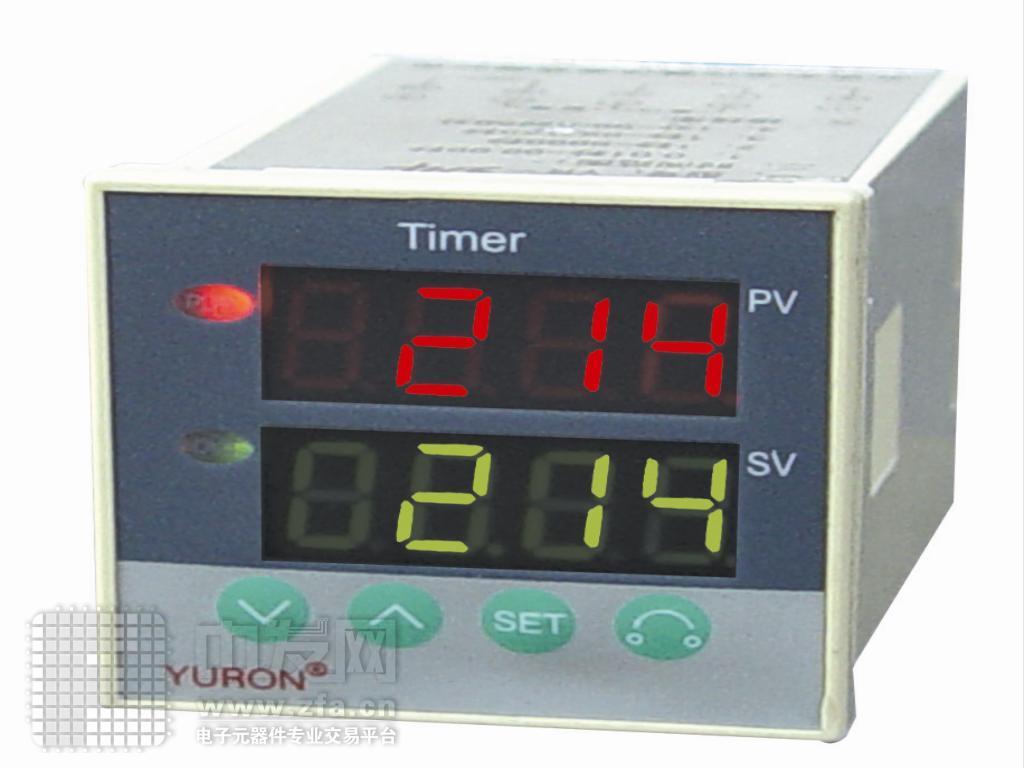 时间继电器实物接线图